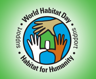 World Habtiat Day 2015 Logo